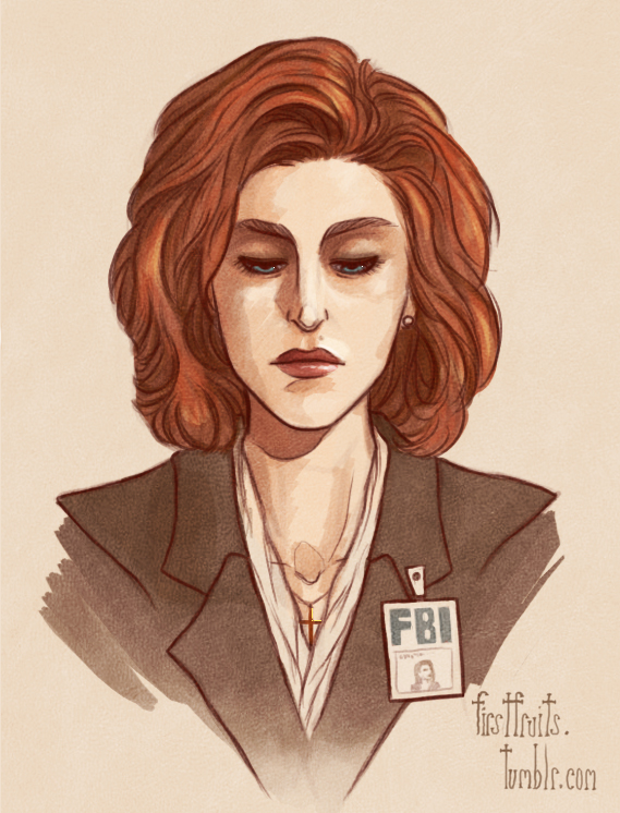 dana_scully_by_firstfruits-d4tr9rc