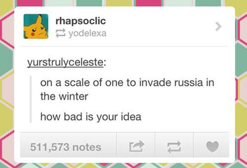 invade russia