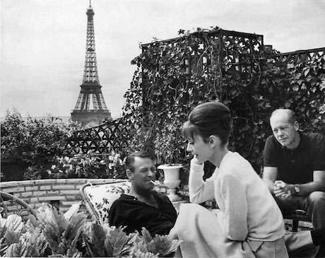 n-Paris-while-filming-with-William-Holden-on-the-roof-of-the-Hotel-Raphael.